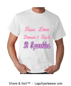 True Love Sparkles Design Zoom